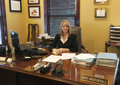 Mary - professional legal help at Ray and Thatcher