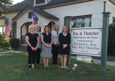 Our staff in Canton TX law offices of Ray and Thatcher